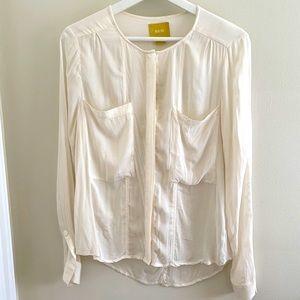 Maeve Blouse Off White Size 4